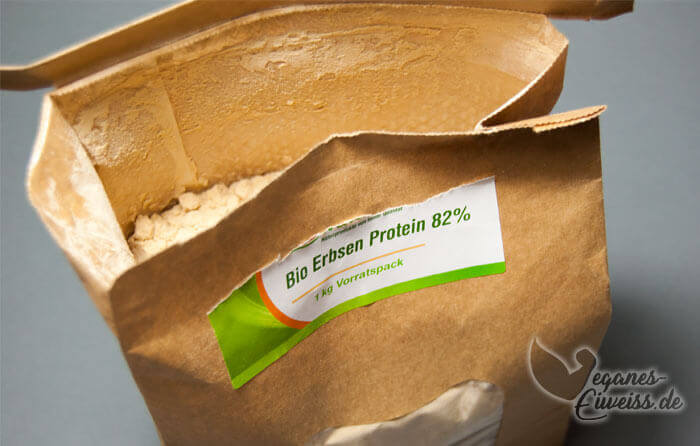 Erbsenprotein Packung