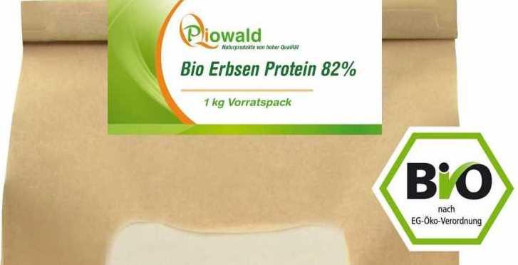 Erbsenprotein im Test