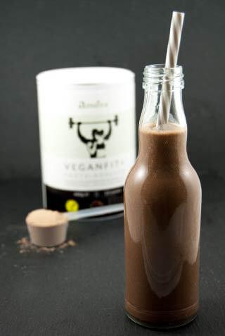 Veganfit+ Proteinshake Schokolade