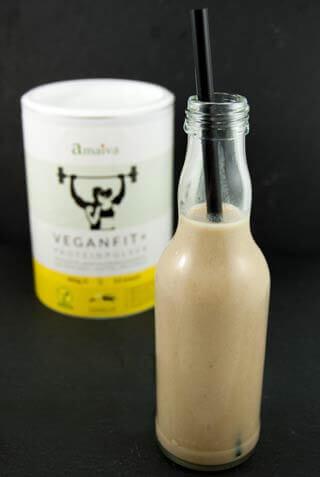 Veganfit Plus Proteinshake Vanille