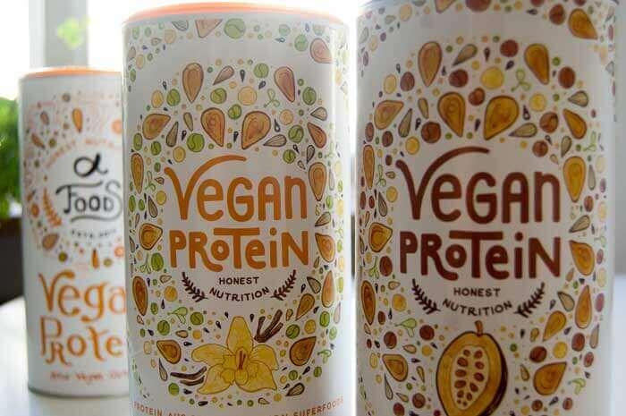 Organic Alpha Vegan Protein Schoko und Vanille