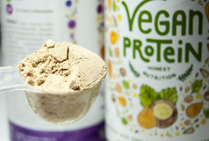 Vegan Protein Haselnuss von Organic Alphae