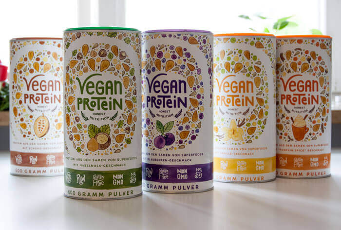 Vegan Protein Organic Alpha
