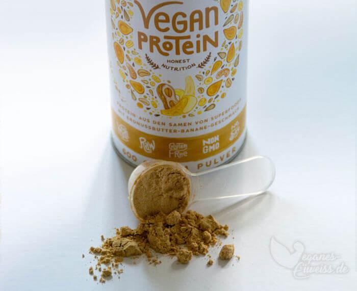 Erdnuss Banane Vegan Protein