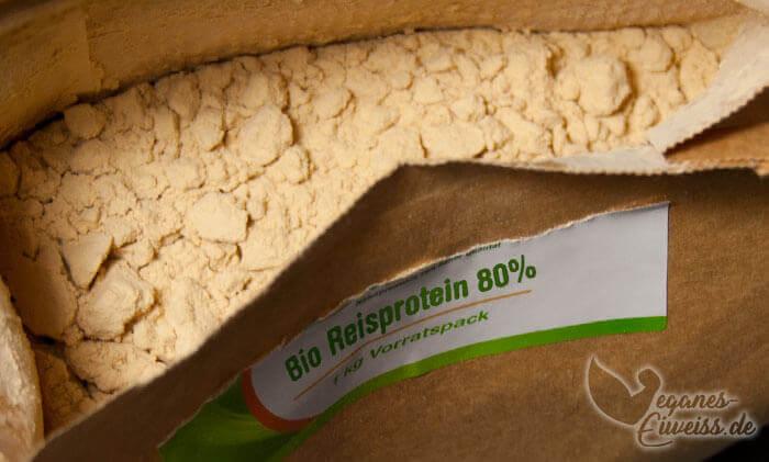 Bio Reisprotein Pulver