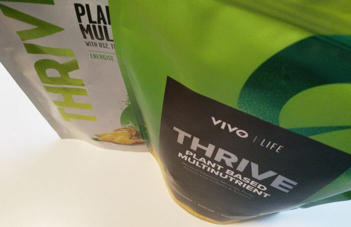 Vivo Life Thrive Test Verpackung