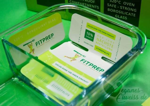 FitPrep Glasbehälter