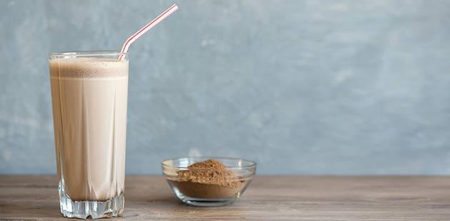 Veganes Proteinpulver mit gutem Geschmack